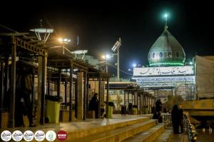 The holy site of Imam Mahdi peace be upon him, in Karbala